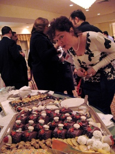 Mary Fletcher Jones with Holiday Treats