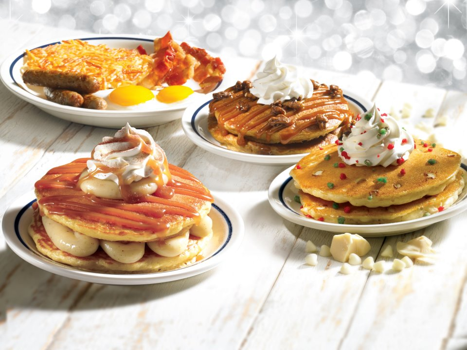 New holiday pancakes at IHOP | Cool Yule: A Christmas Blog